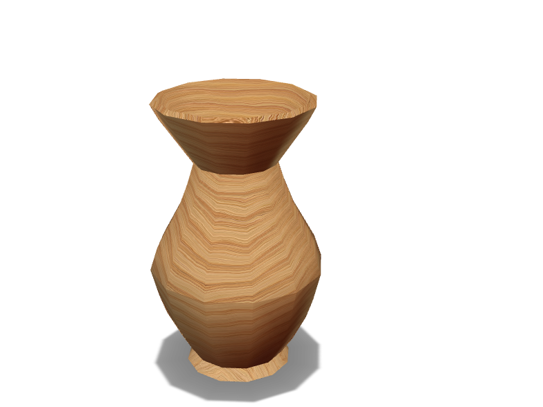 Oak vase - 3D design by lucypickles123 Sep 14, 2017