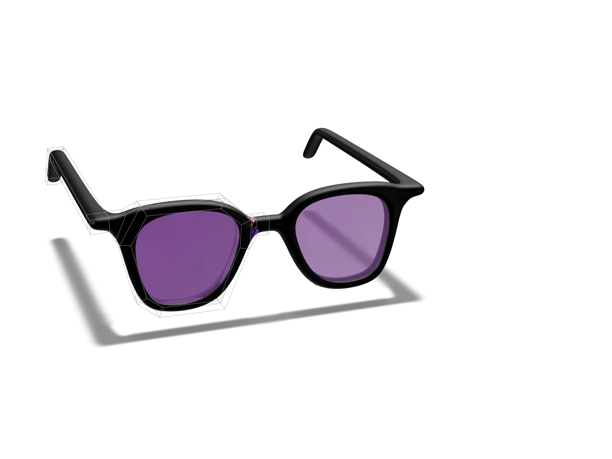glasses2 - 3D design by Jacob Tran on Feb 15, 2018