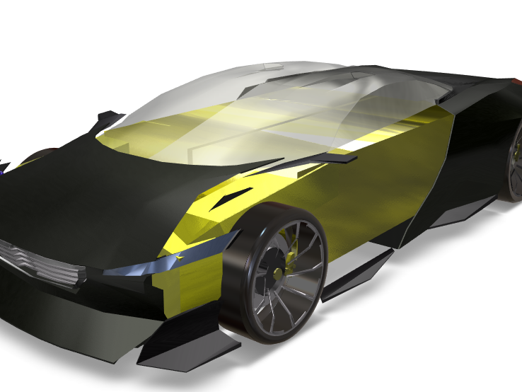 peugeot onyx - 3D design by ExplodingLLLama on Jun 15, 2018