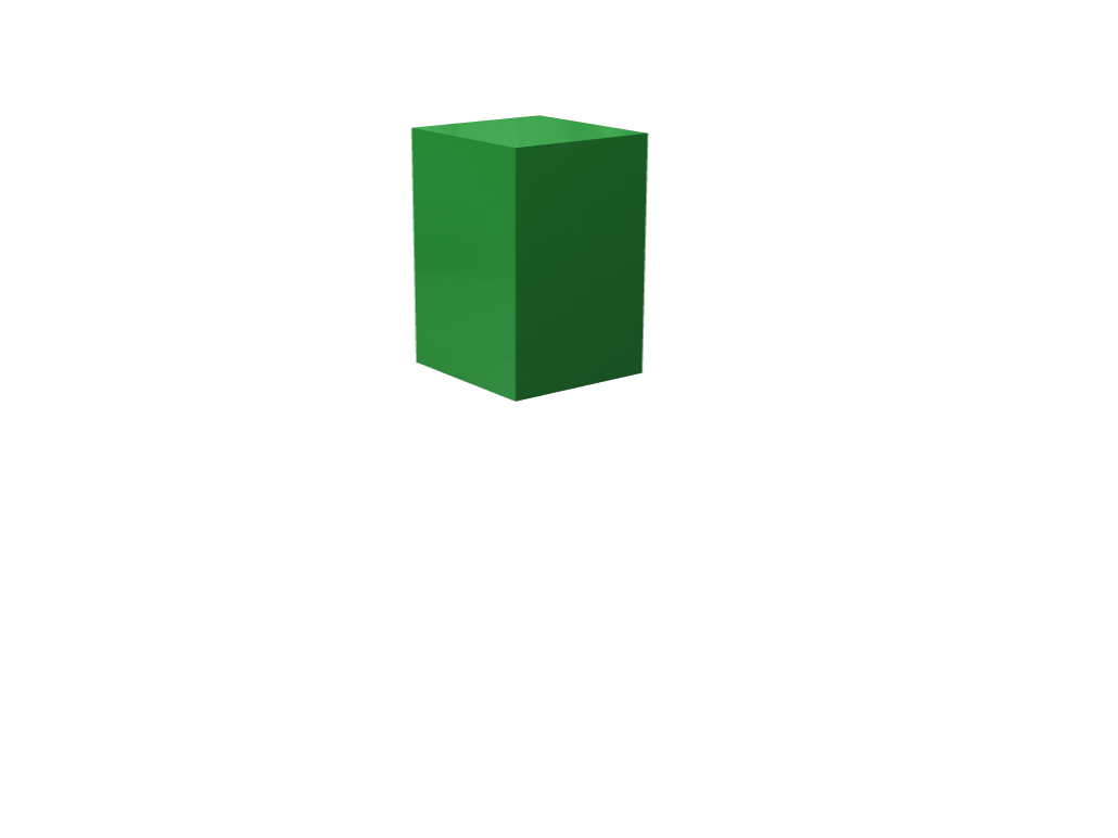green box - 3D design by Gaby Morales on Nov 12, 2017