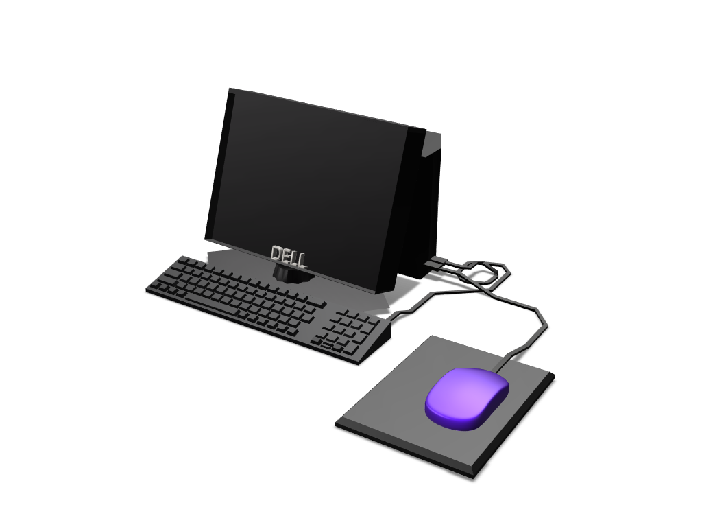 Computer - 3D design by PotatoCouch on May 23, 2018