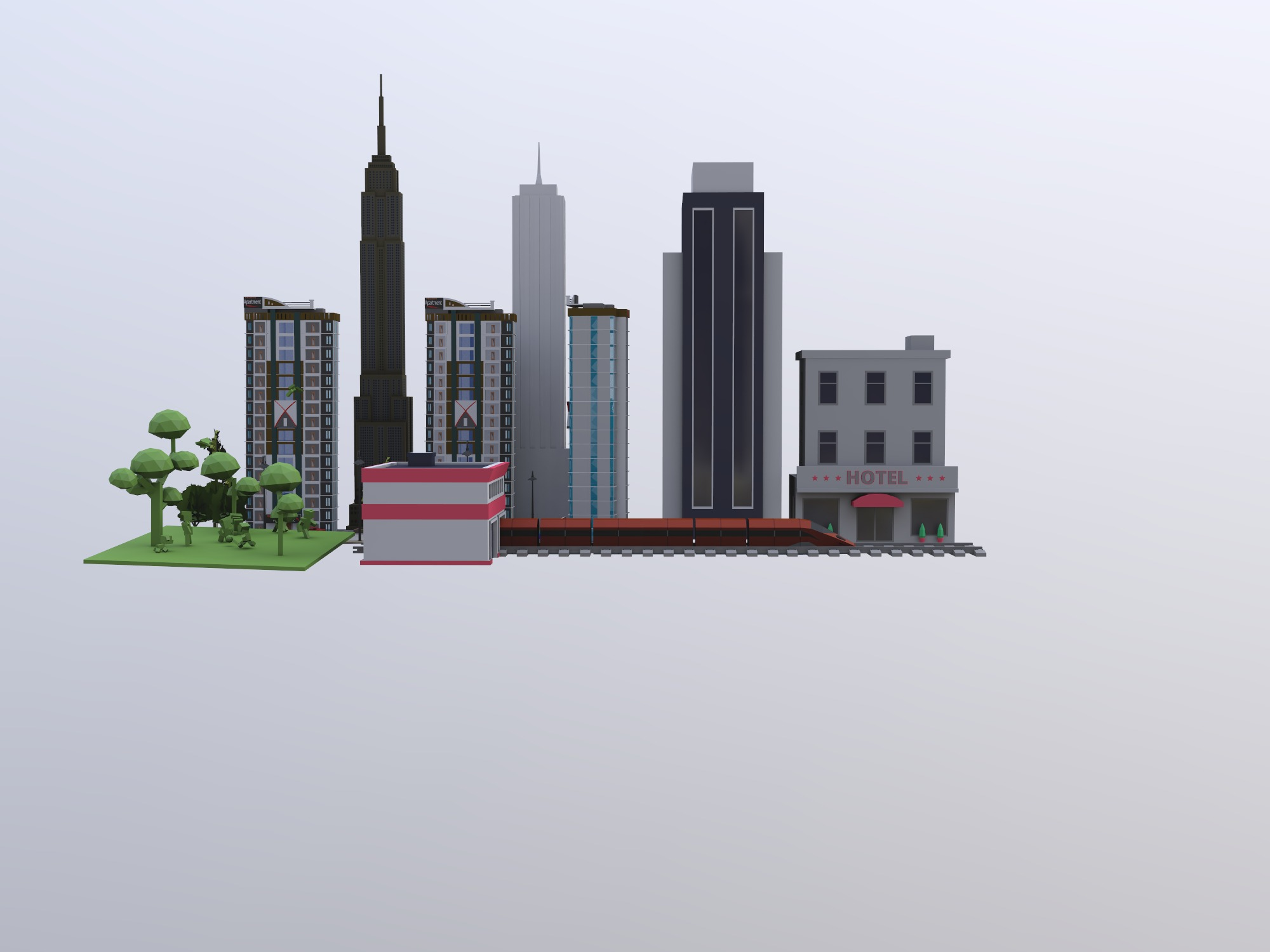 Future Philly - 3D design by 23dau on Dec 11, 2018