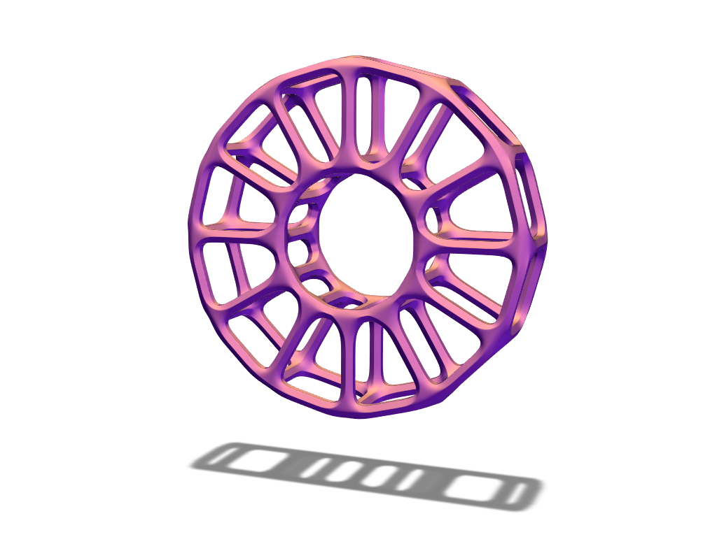 Tube bauble - 3D design by duran Dec 20, 2017