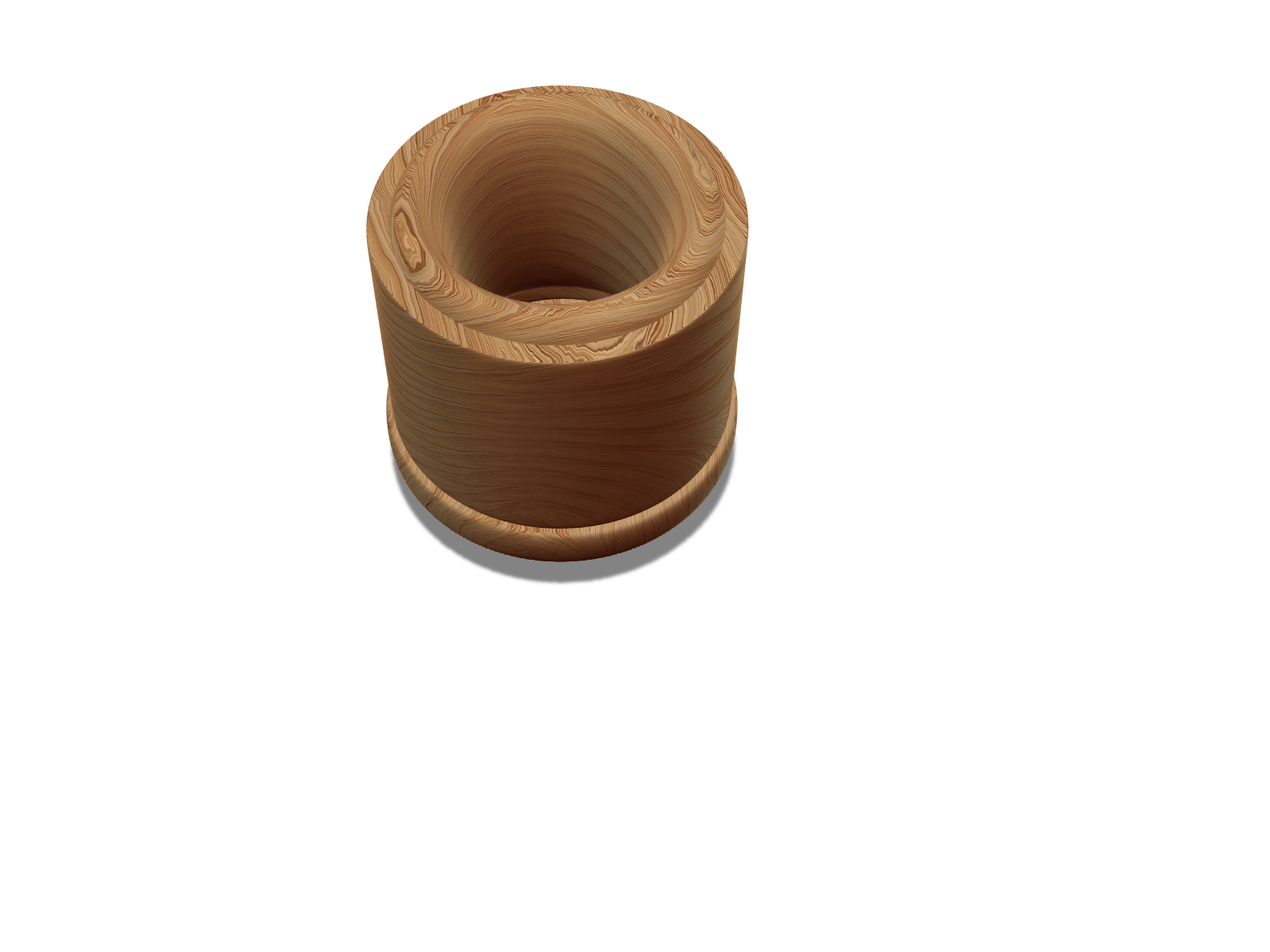 Ugly wood cup - 3D design by Trainb0y Nov 9, 2017