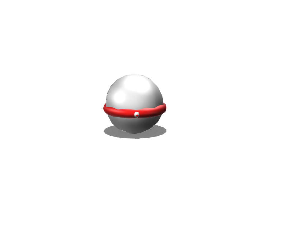 pokeball - 3D design by liongethan02 Aug 3, 2017