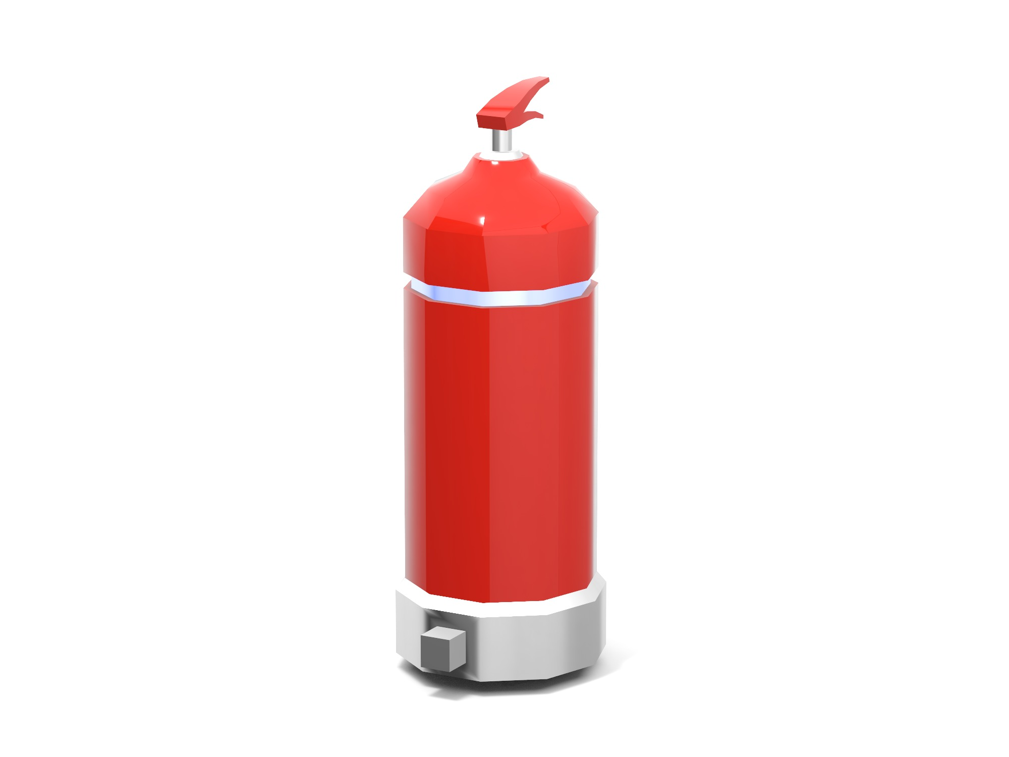 Fire Extinguisher - 3D design by Vectary assets Jun 3, 2019