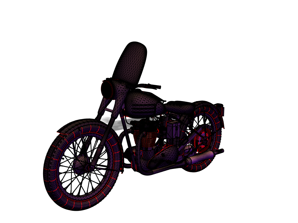 bike - 3D design by Anand Mistry on Apr 23, 2018