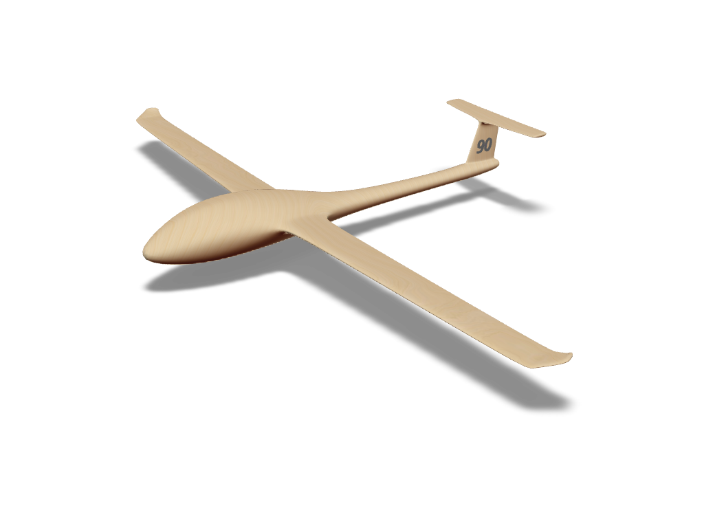 Sailplane - 3D design by kozinova on Oct 30, 2017