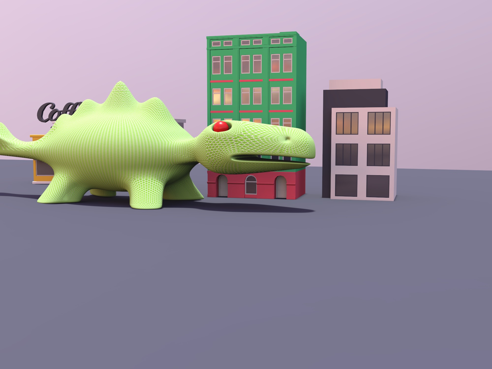Monster! (copy) - 3D design by Kai on Dec 19, 2018