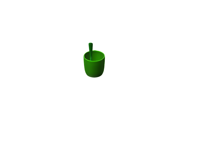 green cup - 3D design by joshua.ramos on Jan 31, 2018