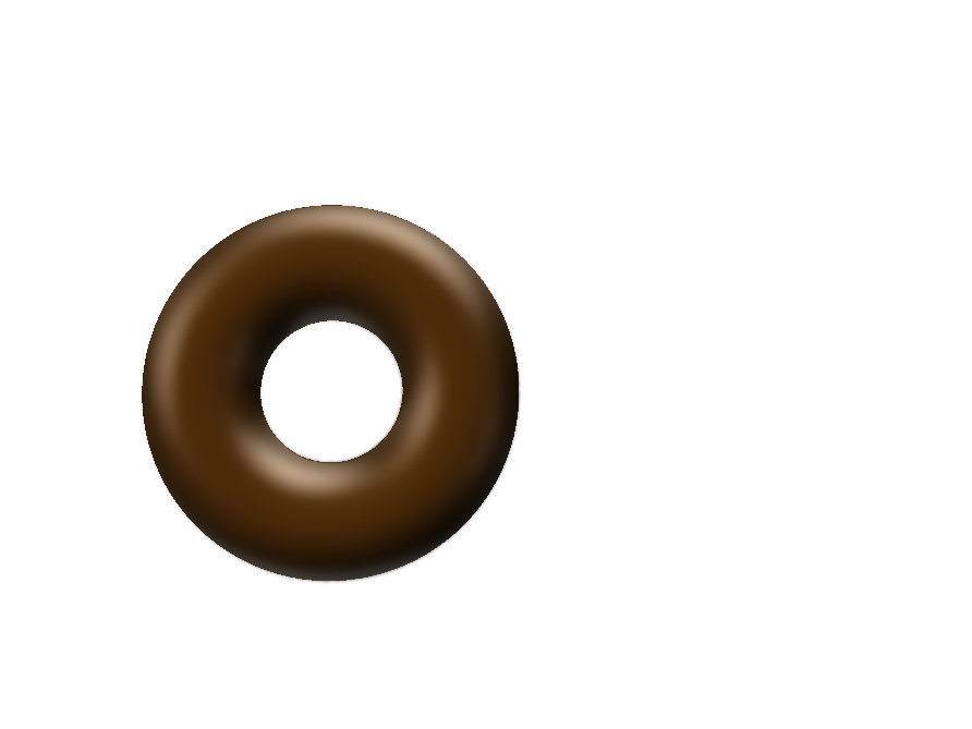 Donut - 3D design by Hamza Apr 29, 2018