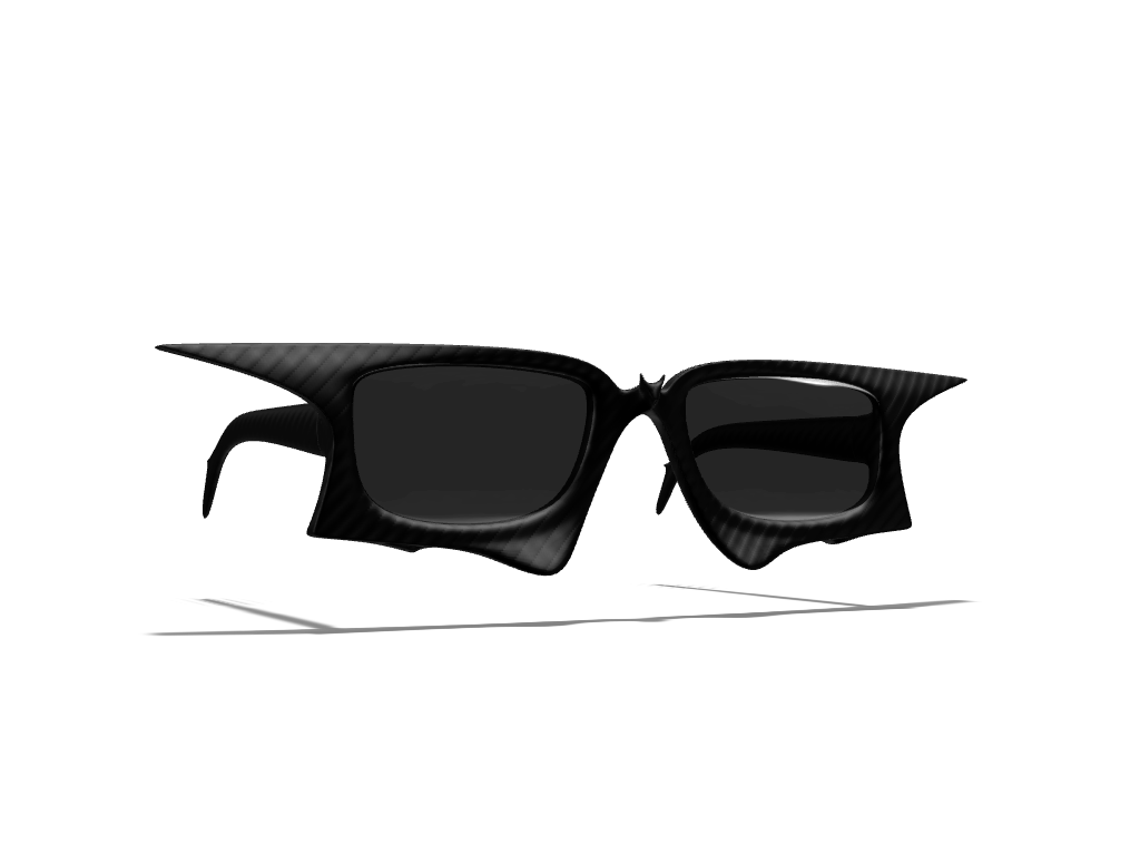 Batglasses - 3D design by Andy Klement Mar 29, 2017