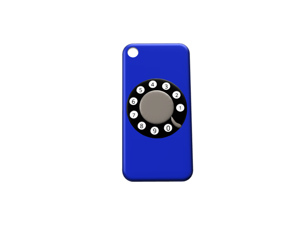 Spinning Rotary iPhone 7 cover  - 3D design by Maureen Sep 10, 2017
