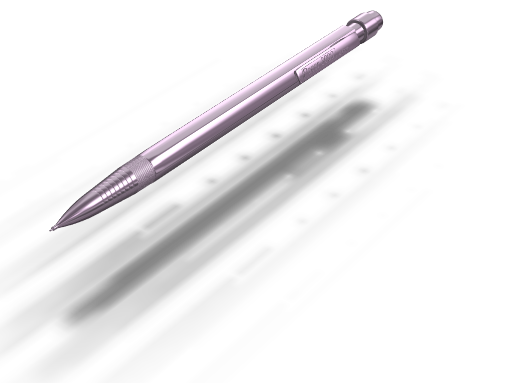 Pacer pencil  - 3D design by Cookie Dough on Sep 23, 2017