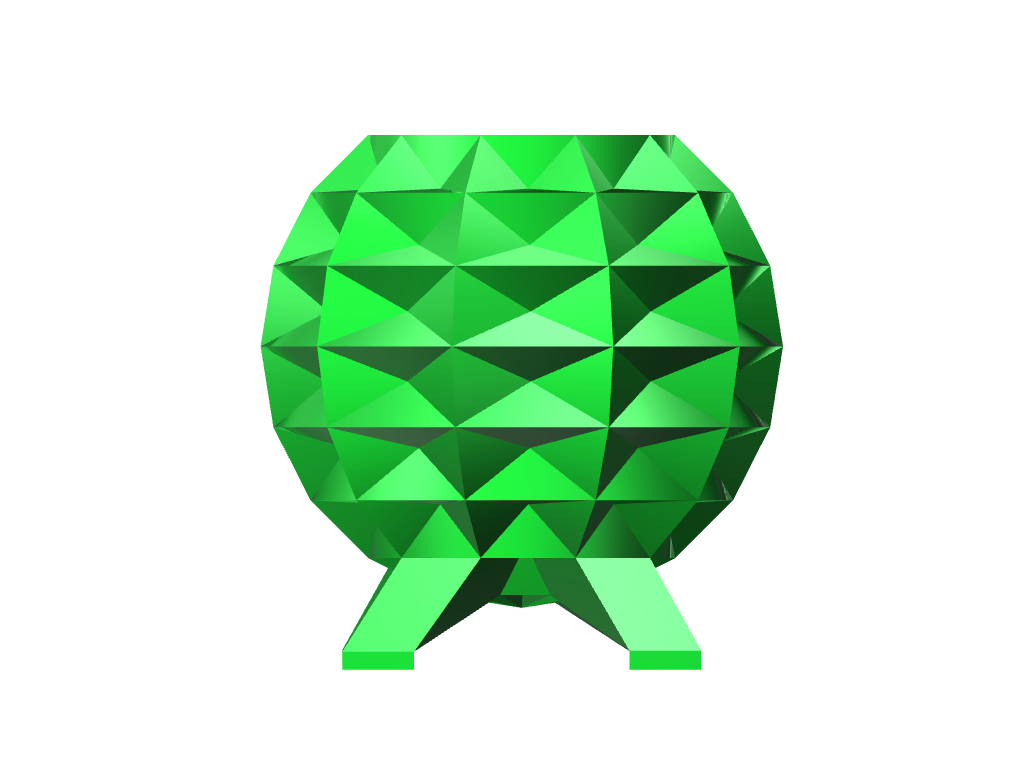 Emerald Vase - 3D design by z_farley on Aug 22, 2017