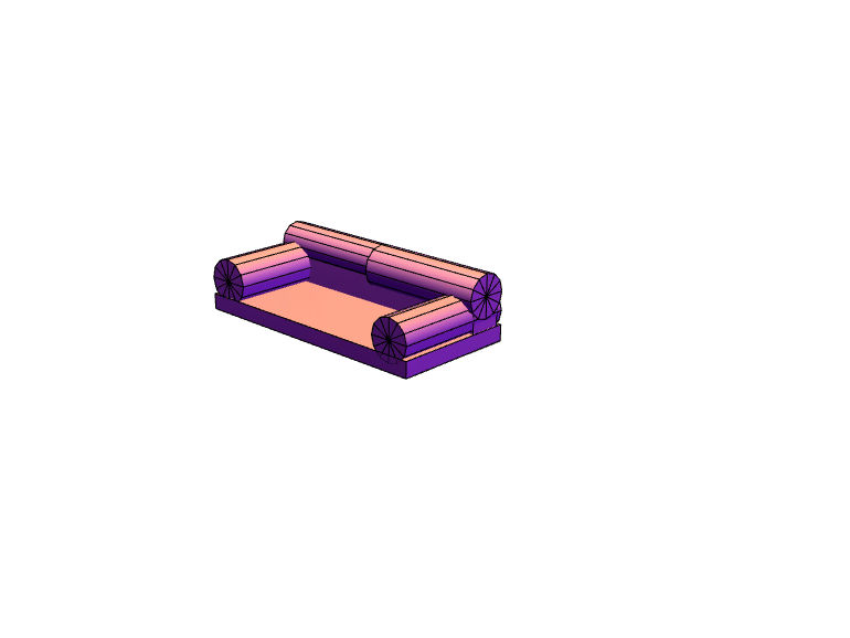couch - 3D design by mineplex360 Dec 1, 2017