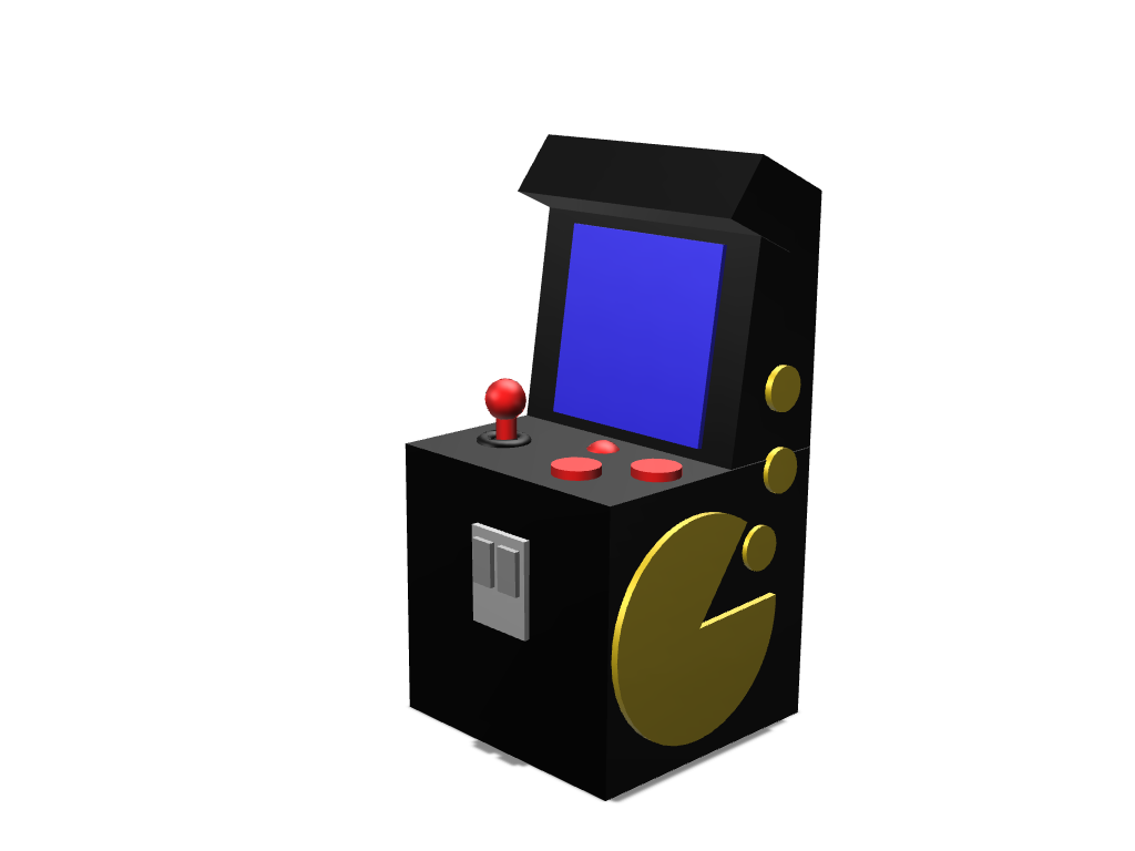Arcade Machine - 3D design by Hammerhit 36 Oct 10, 2017