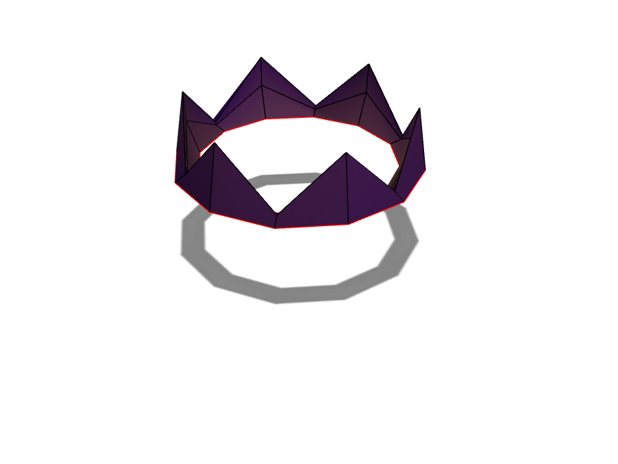 King Crown - 3D design by Zachary Lawrence on Apr 20, 2018