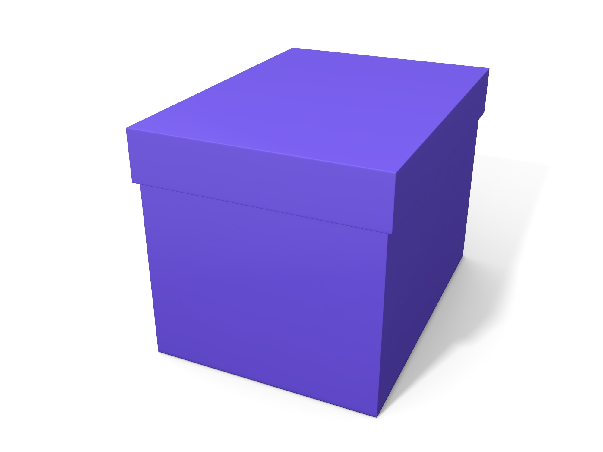 Box with lid 140 × 100 × 100 - 3D design by Vectary assets Nov 6, 2018