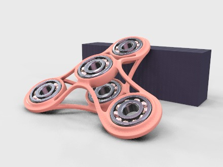 FATTY - fidget spinner - 3D design by Personal | CEO Jun 20, 2019