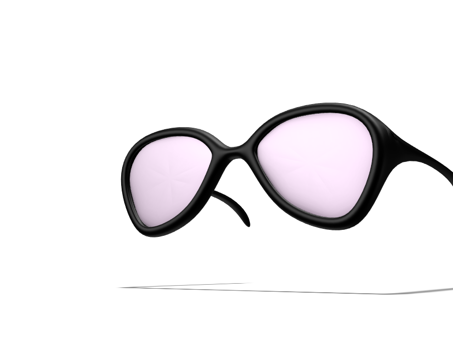 Sunglasses - 3D design by Connie Kang Feb 22, 2018