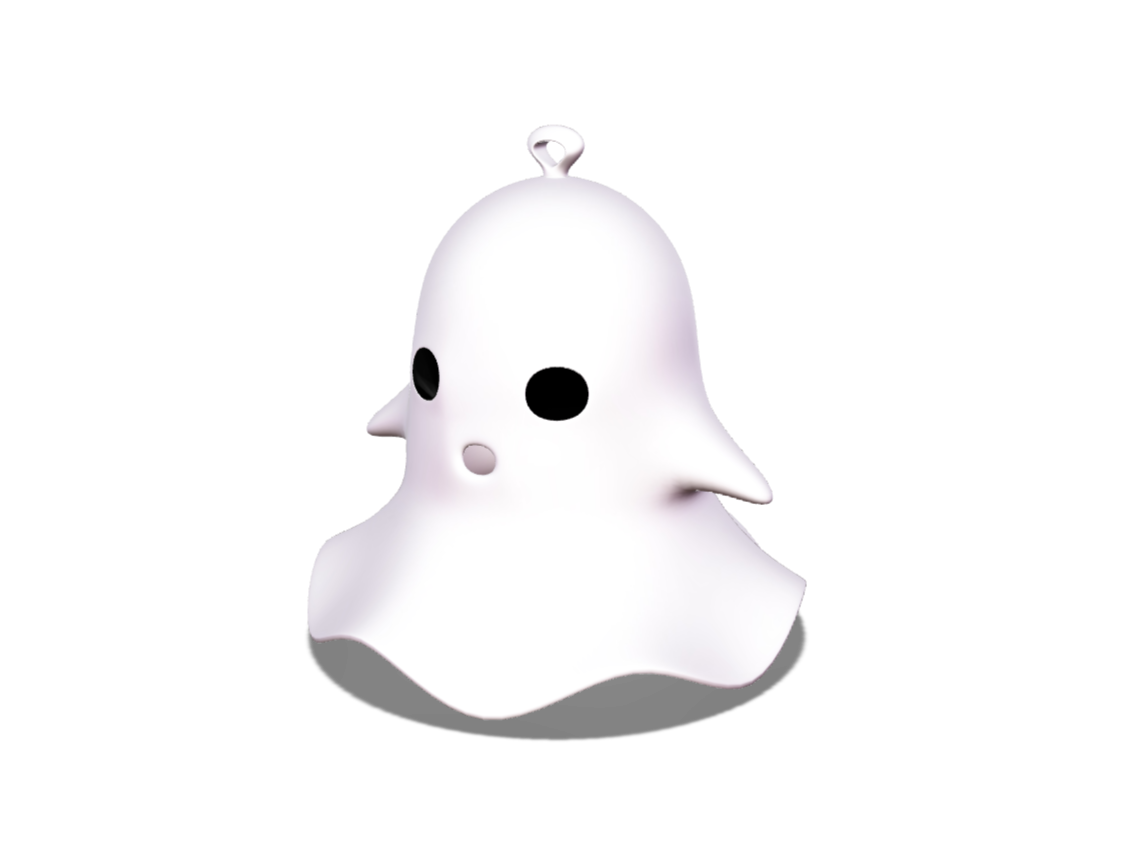 Ghost decoration - 3D design by VECTARY Oct 17, 2017