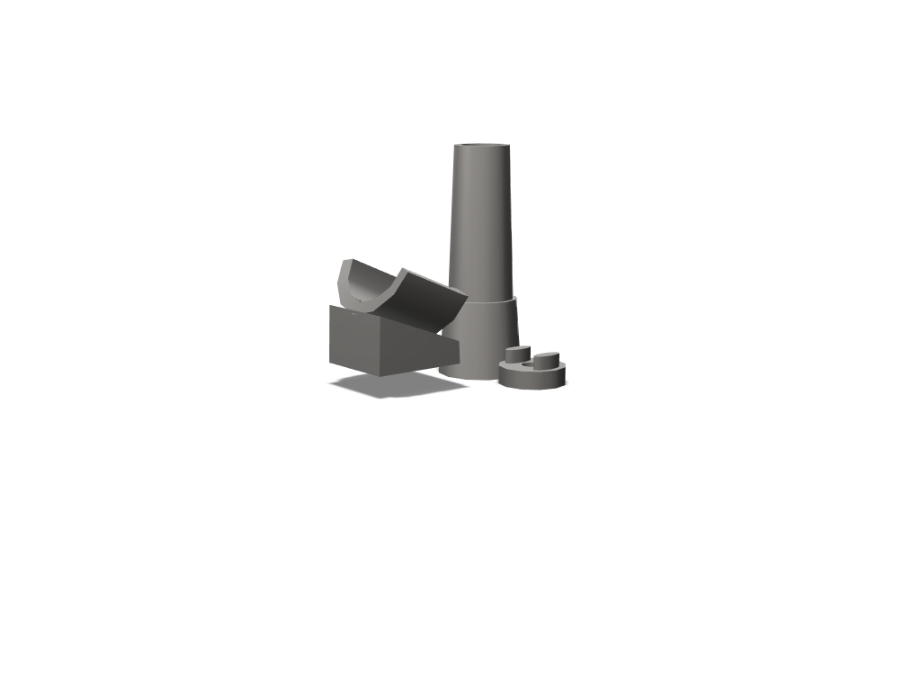 party popper artillery gun - 3D design by lnoble21 Feb 20, 2018