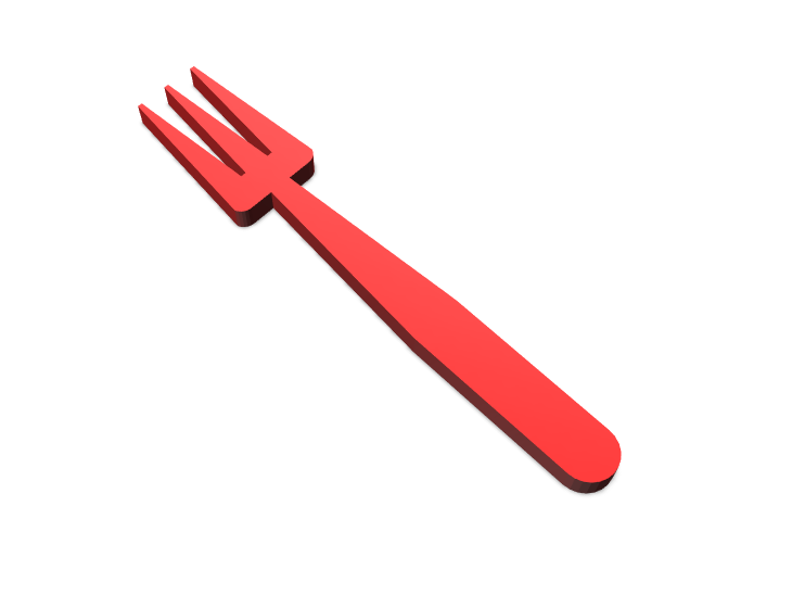 fork - 3D design by lord.trabilo Mar 29, 2018