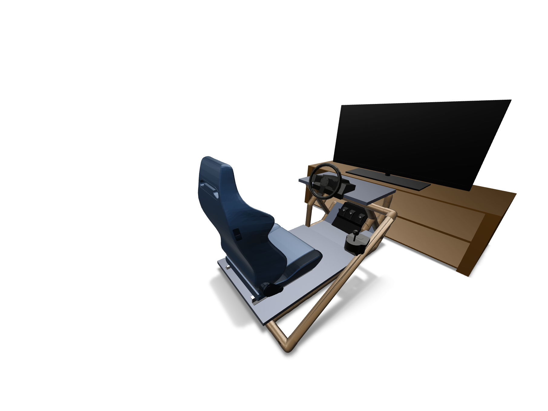 SimCockpit - 3D design by DrewD Apr 3, 2018