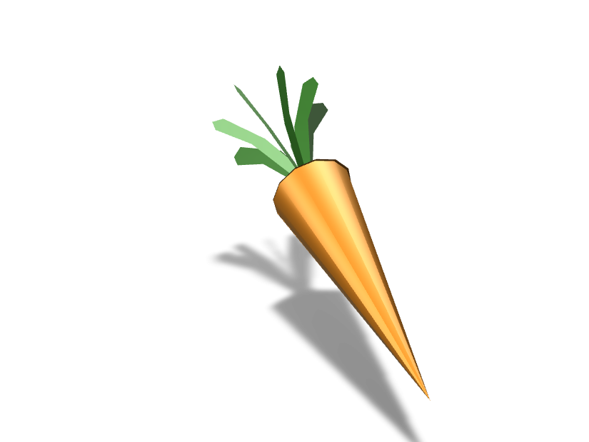 carrot - 3D design by Teltuo Dec 26, 2017