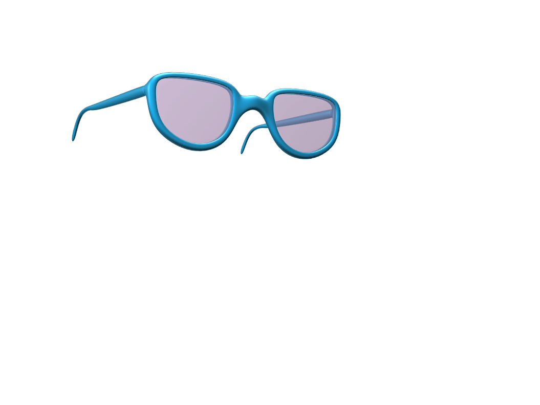 glasses - 3D design by mr.kaaav Apr 2, 2018