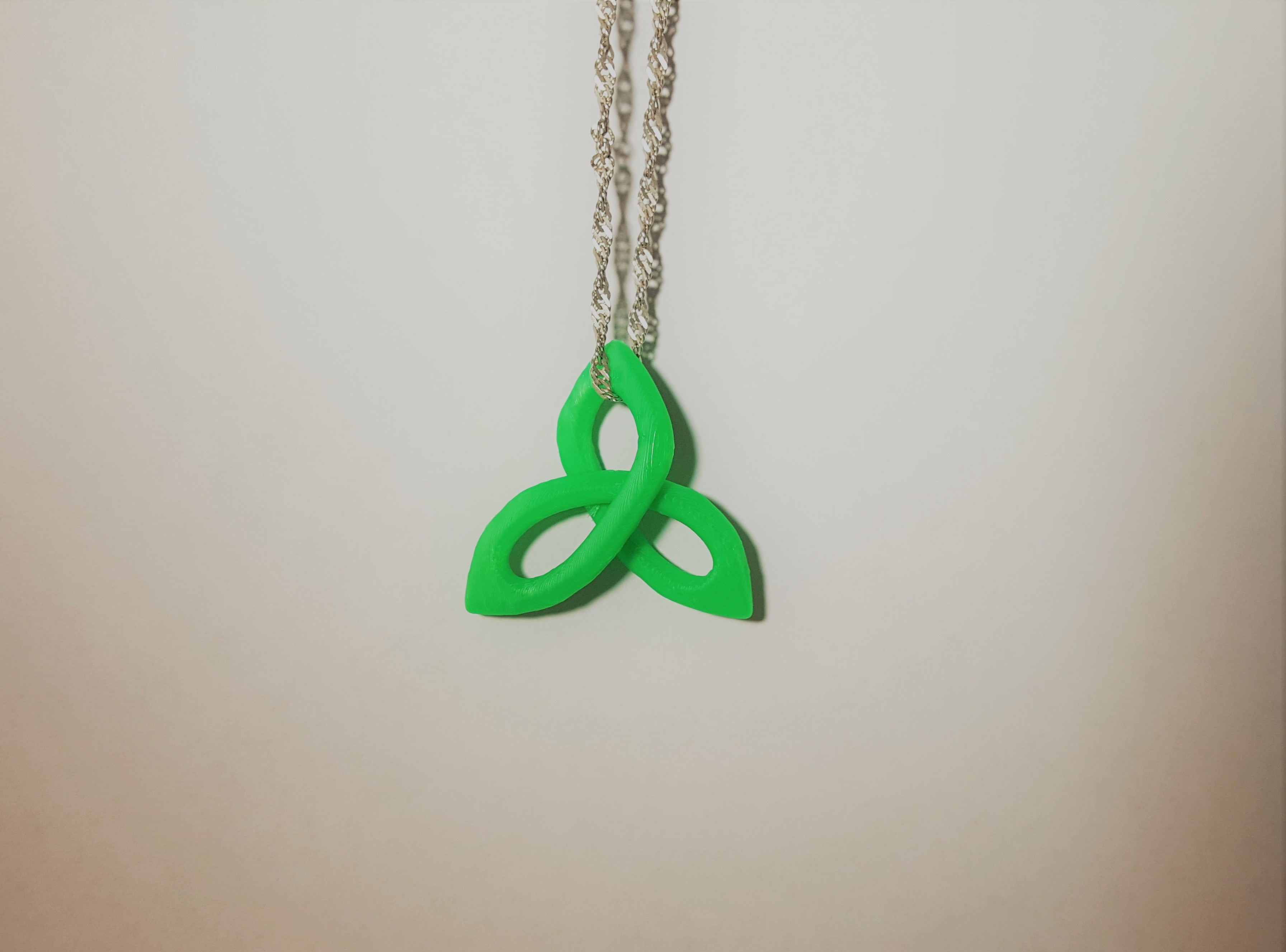 Triquetra Pendant - 3D design by Dan O'Connell Sep 13, 2017