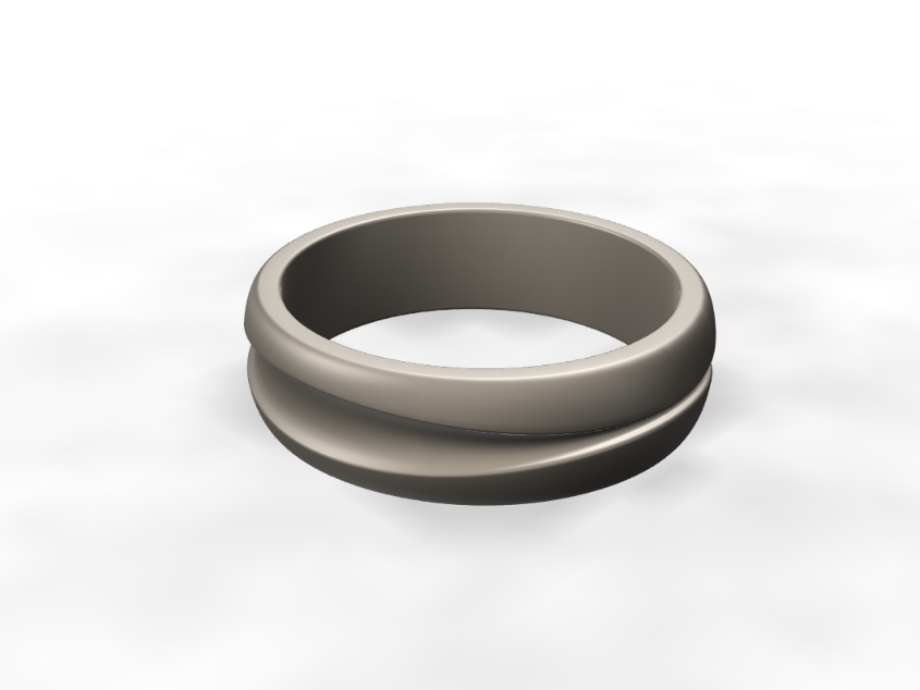 Trench Ring - 3D design by Odds and Ends Sep 14, 2017