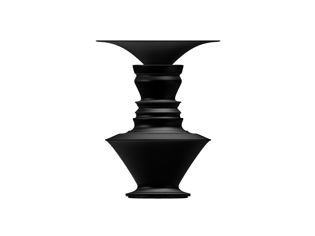trump vase - 3D design by Andy Klement Feb 17, 2018