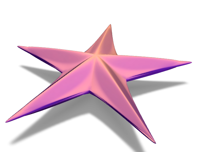 estrella de mar - 3D design by juanjitocordoba Nov 17, 2017