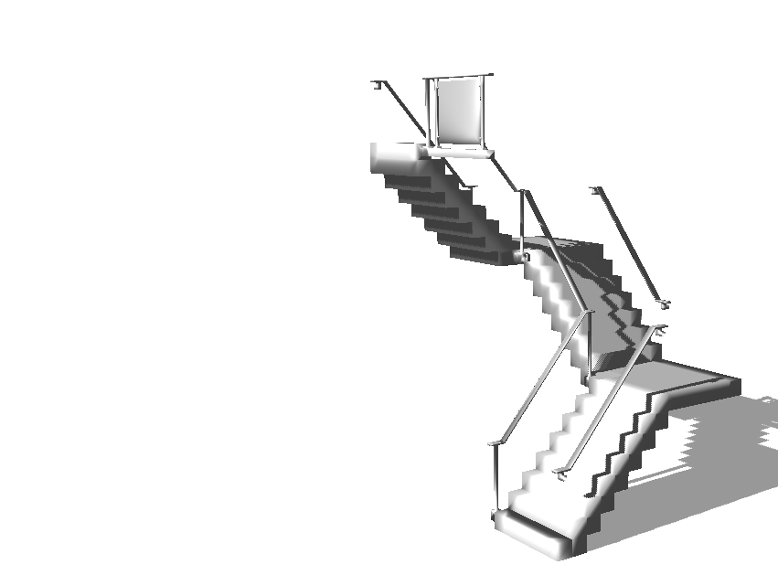 escalera - 3D design by sasneris Mar 15, 2018