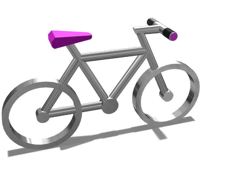Bike - 3D design by cicig0901 on May 19, 2018