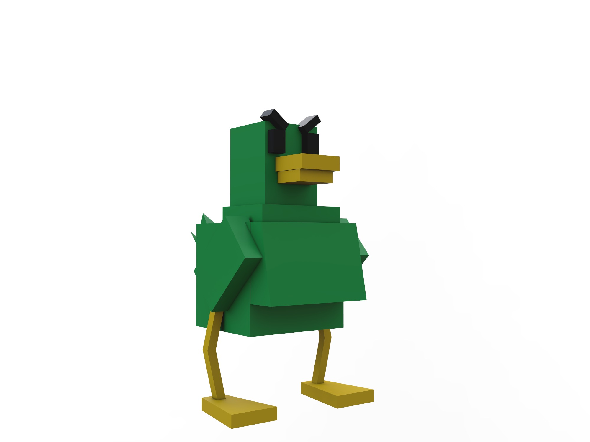 Bossy Duck - 3D design by starlion365 on Jul 17, 2018