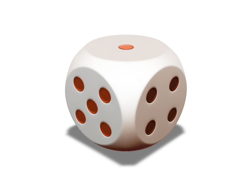Dice - 3D design by Johnnyal Aug 8, 2016