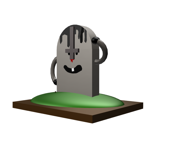 stupid tomb - 3D design by ete.vs95 on Oct 24, 2017
