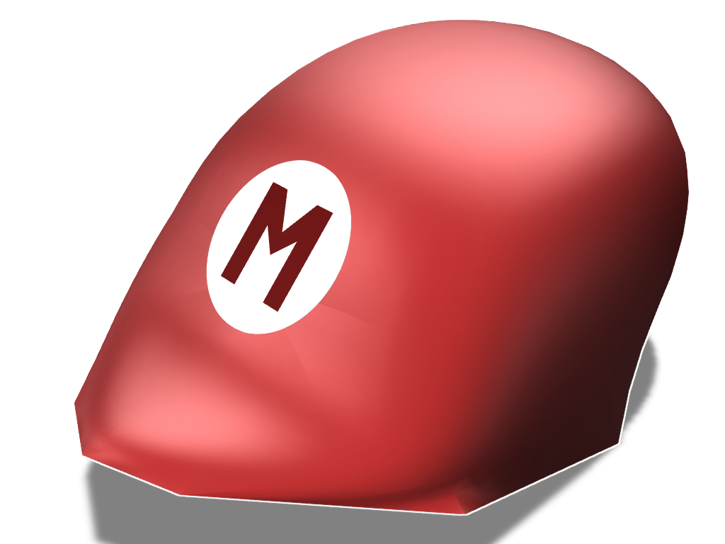 Mario Hat - 3D design by Geek Gaming Jun 17, 2017