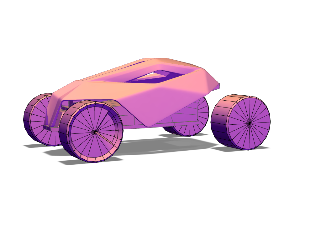 Toy car redesign - 3D design by lionel on Oct 25, 2017