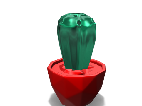Yet another Cactus vase - 3D design by Juan Montiel Sep 4, 2017