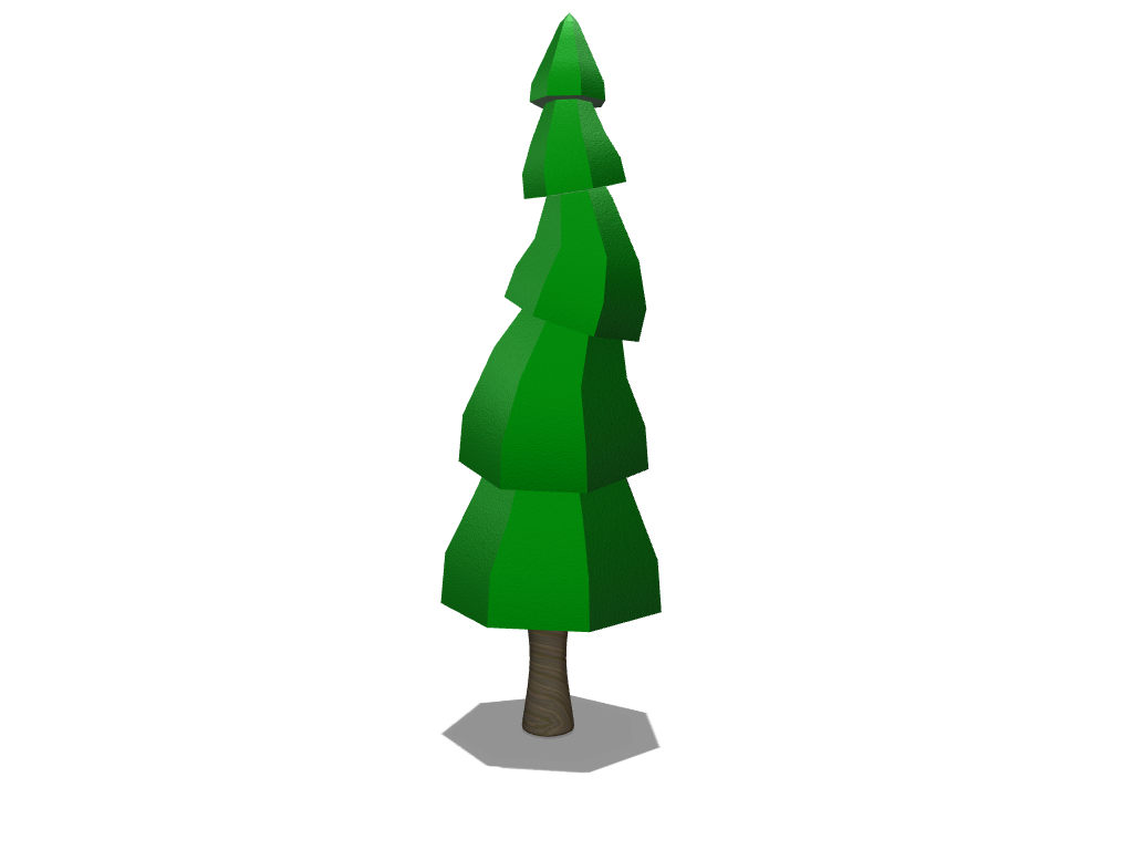 LowPolygonTree - 3D design by leon.skalczynski Nov 9, 2017
