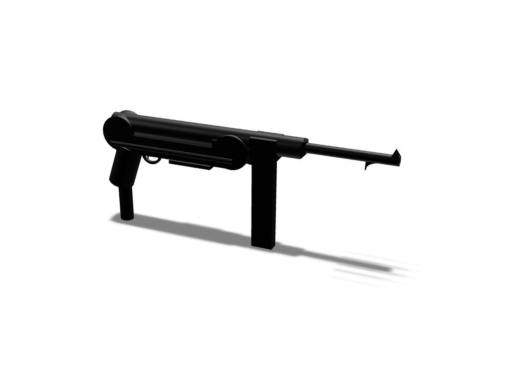 MP40 - 3D design by Bill13 Sep 3, 2017