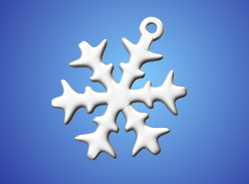 Snowflake No1 - 3D design by Mixed Gears on Nov 23, 2017