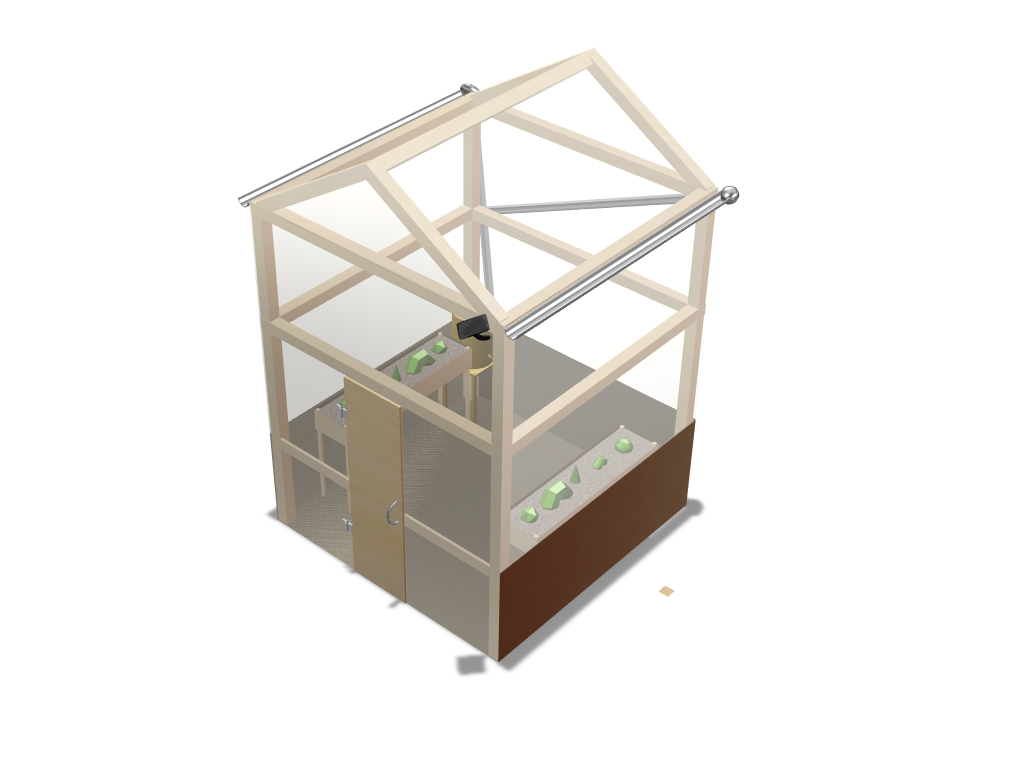 culminating product - greenhouse - 3D design by Meghan Brown on Jun 5, 2018