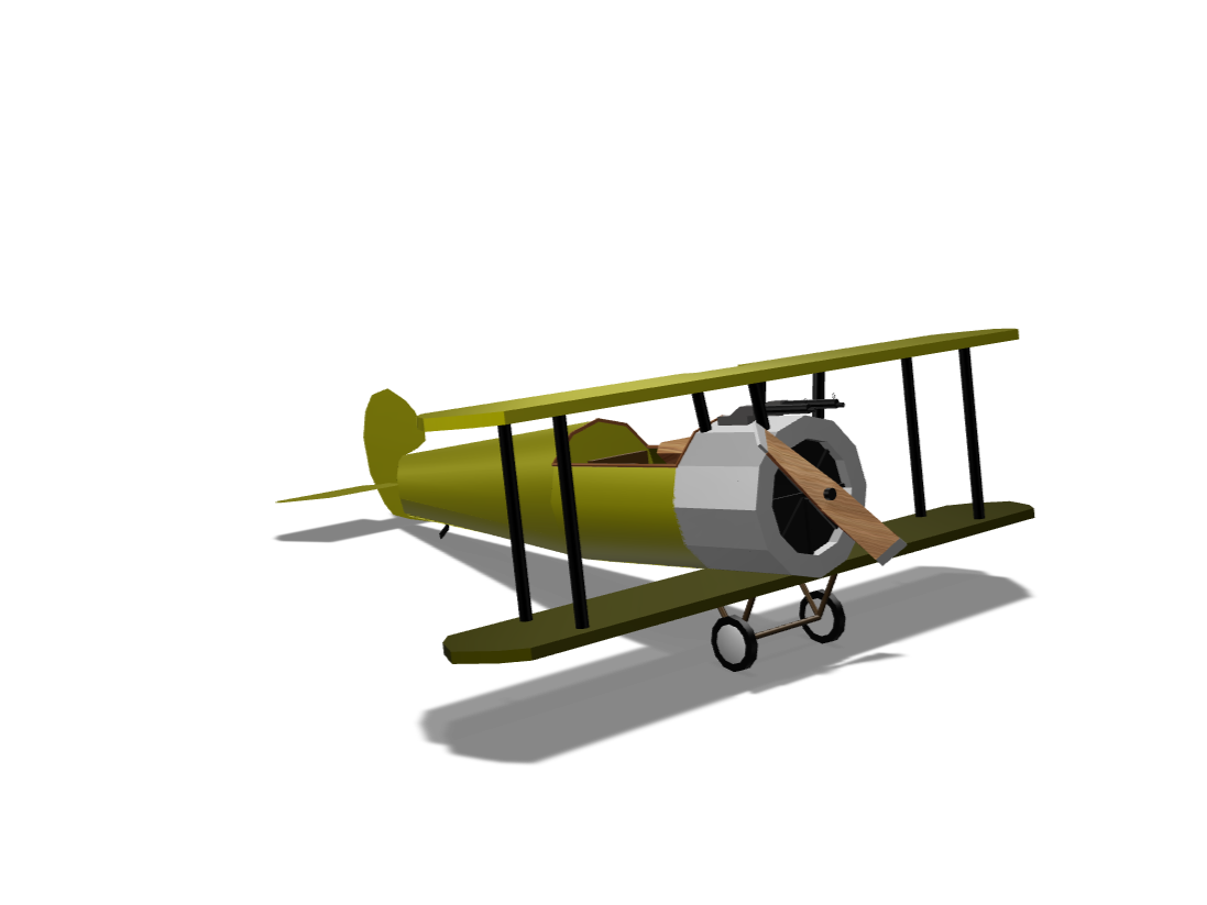 Simple WWI Plane - 3D design by cheestick25 Feb 13, 2018