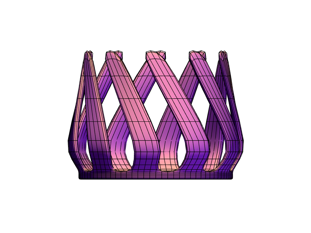 candle holder02 - 3D design by moood.m Dec 20, 2017