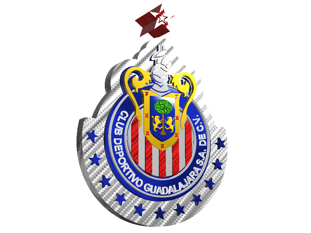 ESCUDO CHIVAS - 3D design by carlos Mar 16, 2018